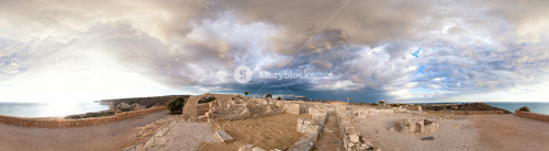 Panoramic View Of Ancient Kourion