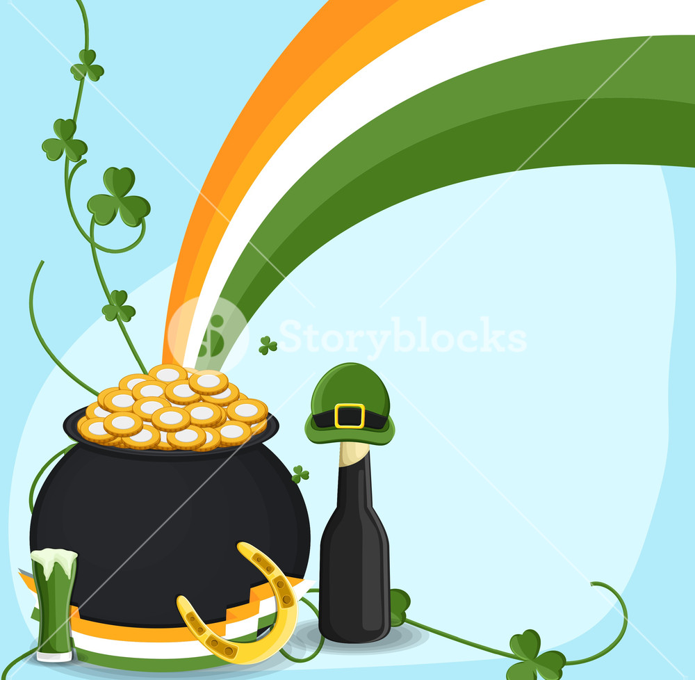Patrick's Day Vector Objects