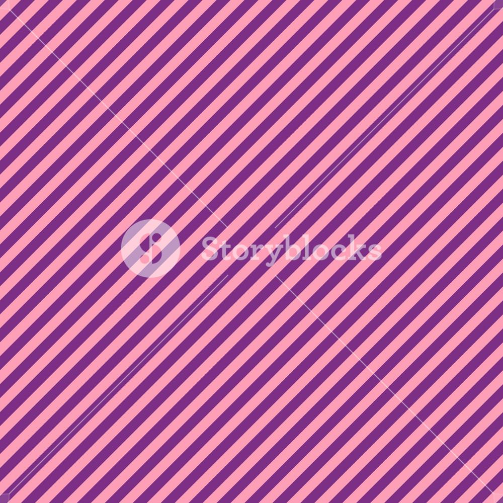 Pink And Purple Diagonal Stripes Pattern