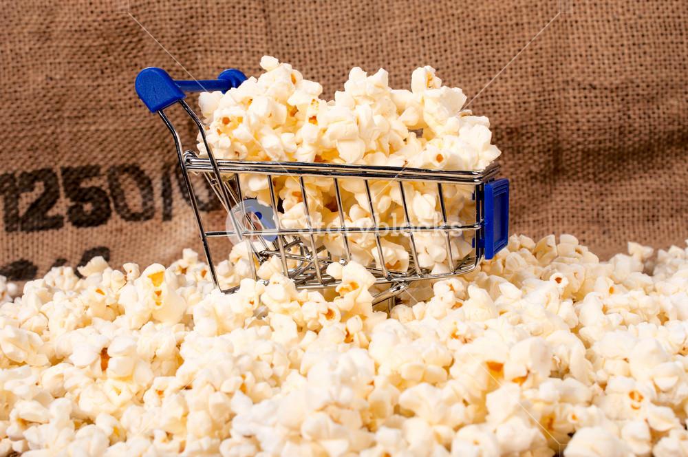Popcorn In Trolley