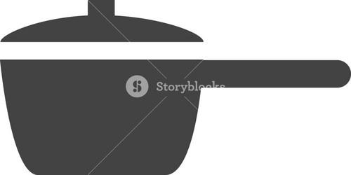 Pot Glyph Icon