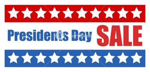 Presidents Day Sale Vector