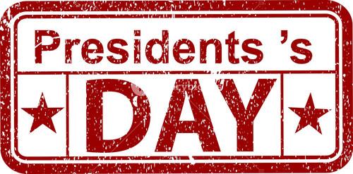 President's Day Stamp