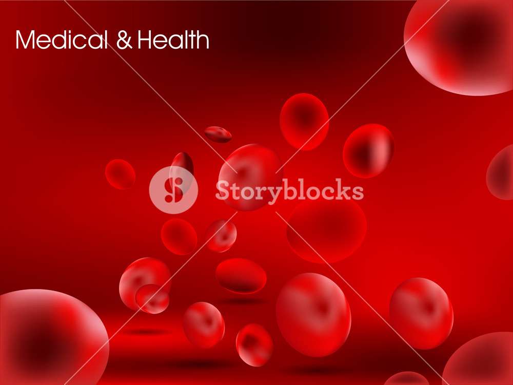 Red Blood Cells Background.