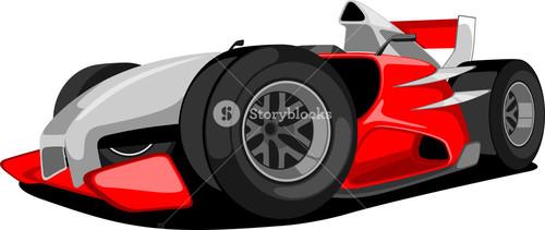 Red Grand Prix Car.