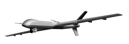 Remote Controlled Drone Aircraft