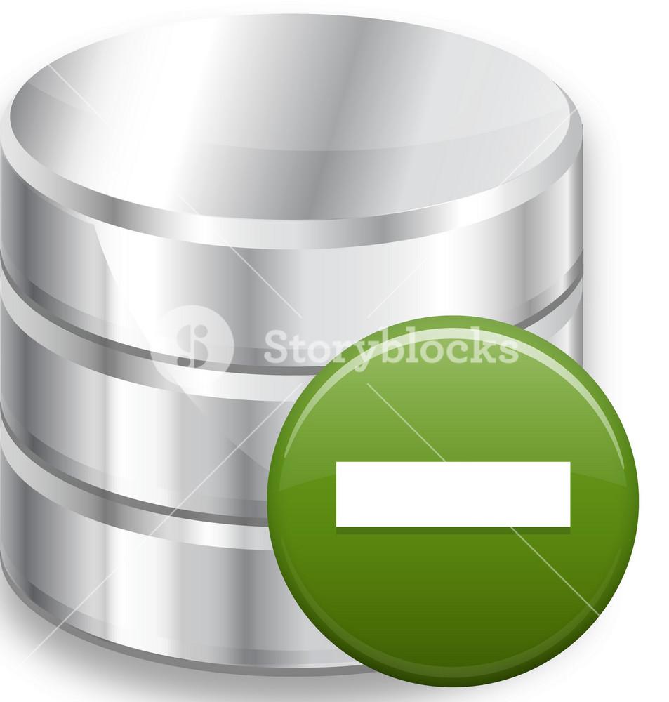 Remove Database Royalty Free Stock Image Storyblocks