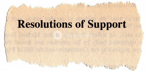Resolution Of Support