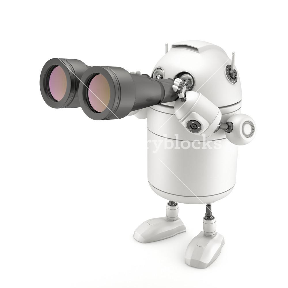 Robot With Binocular