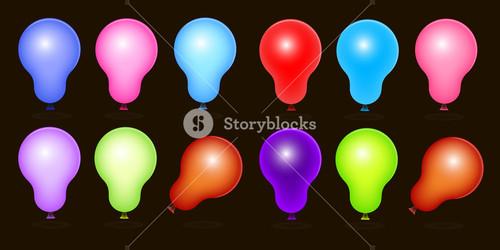 Royalty Free Balloons Vectors