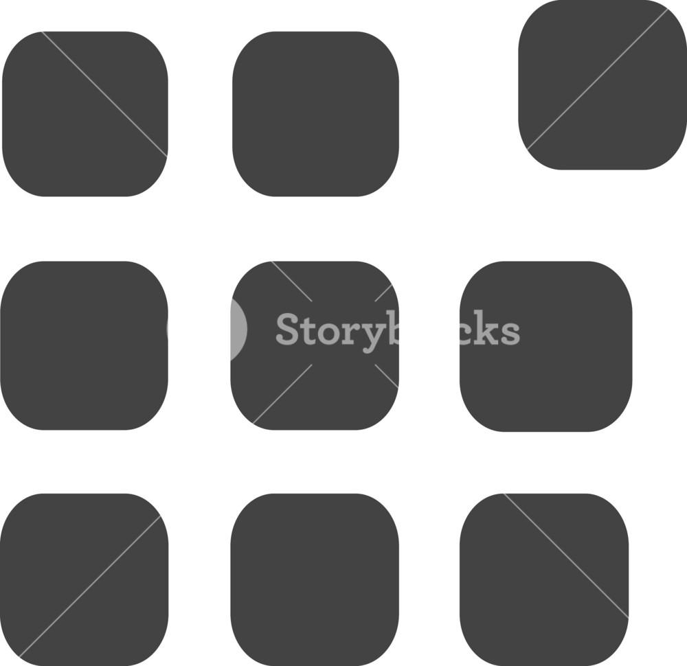 Saparate Glyph Icon