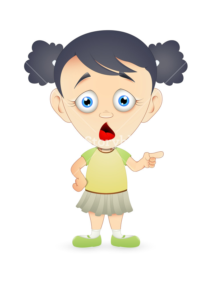 scared cartoon girl character vector royalty free stock image storyblocks https www storyblocks com business solution license comparison