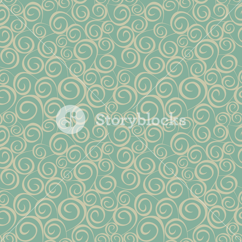Seamless Pattern On Leaves Theme