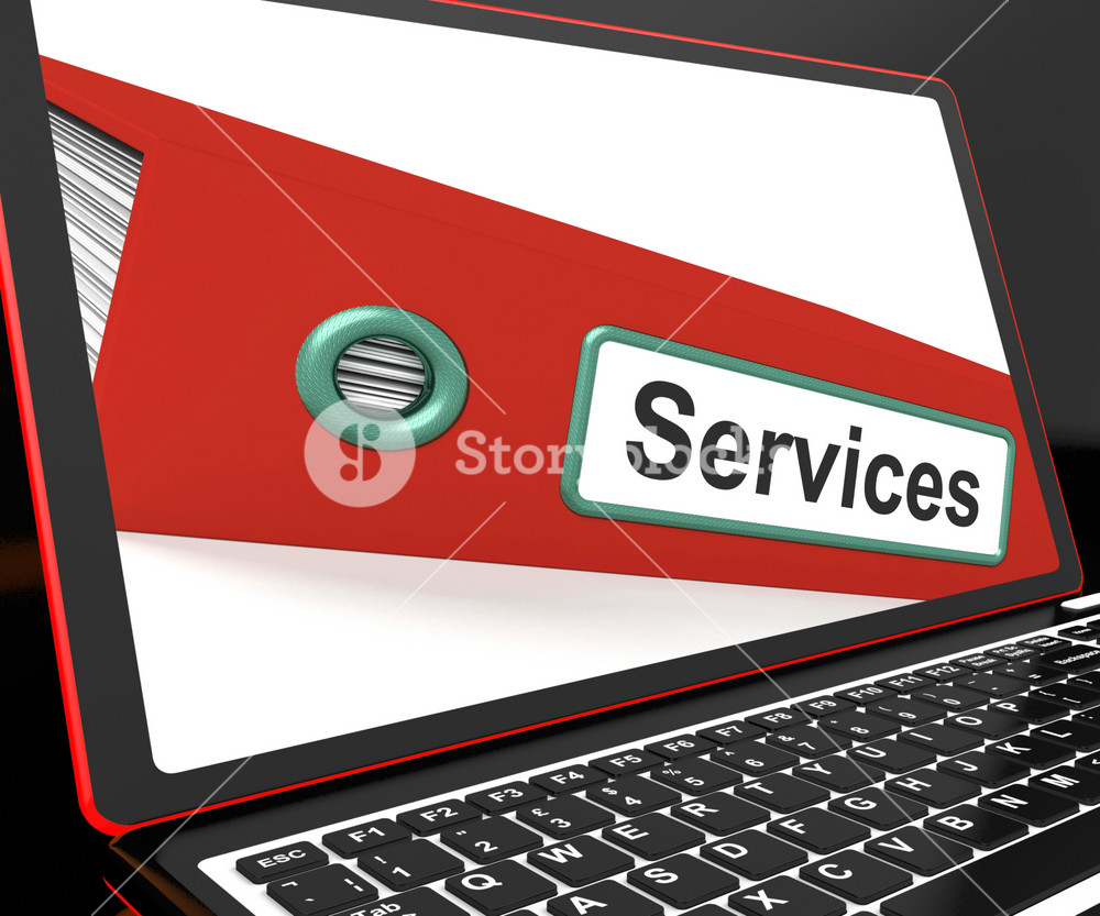 Services File On Laptop Shows Services Records