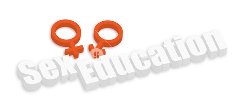 Sex Education Text Banner