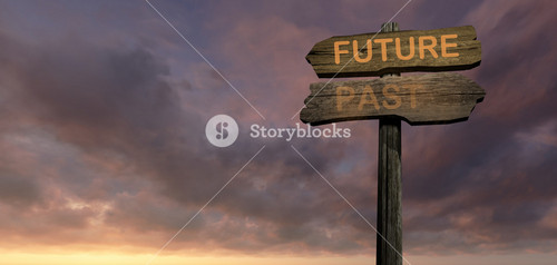 Sign Direction  Future Past