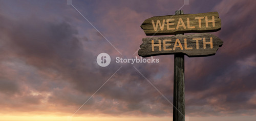 Sign Direction Wealth   Helth