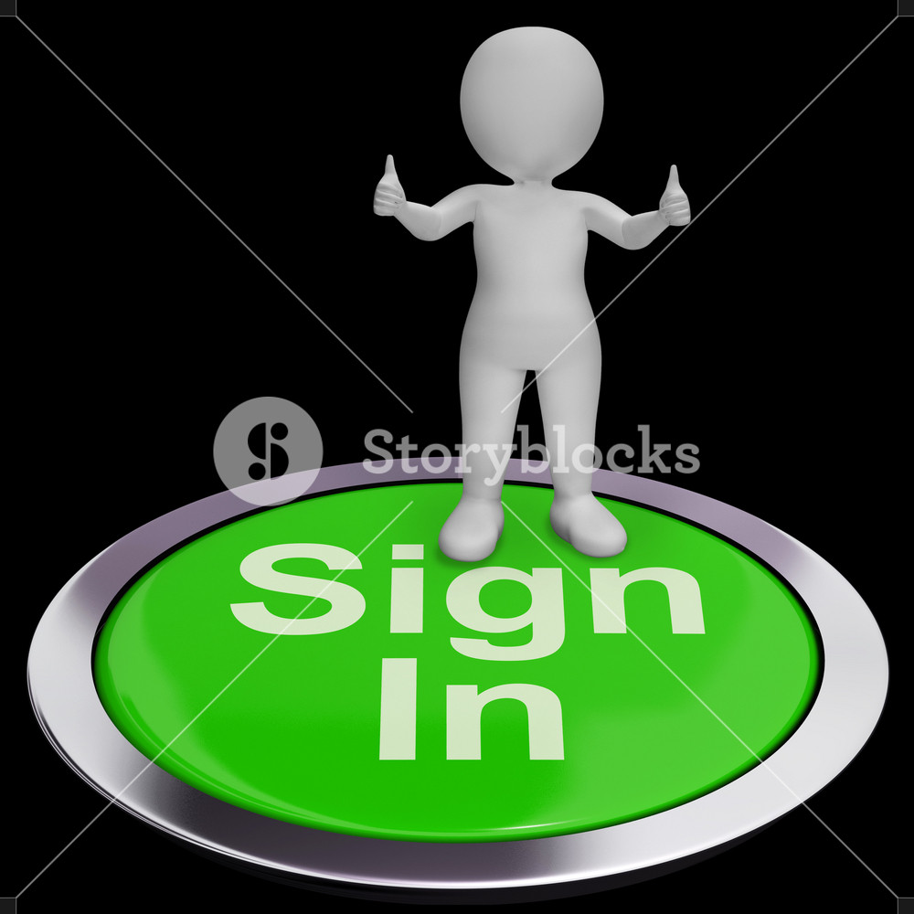 Sign In Button Shows Website Logins And Signin