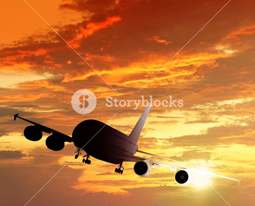 Silhouette Plane