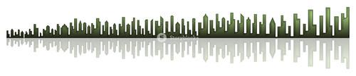Skyline Buildings Banner