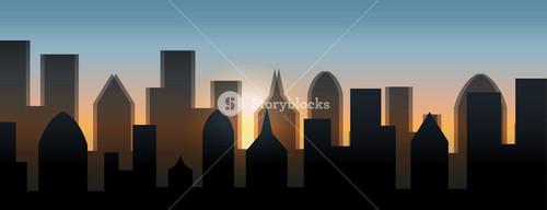 Skylines Silhouette