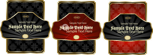 Square Vector Labels