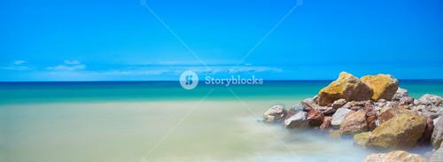 Stones at sea beach