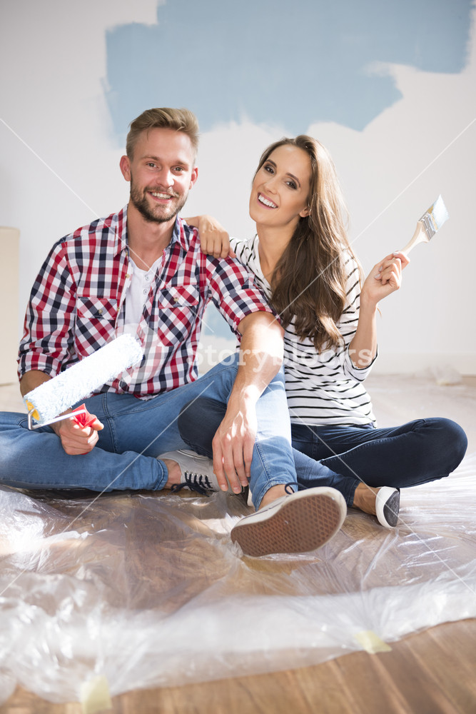 Painting a house can be a great fun