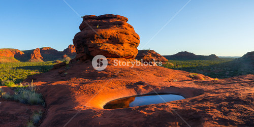 Stunning rock formation in the Northern Territory, Australia