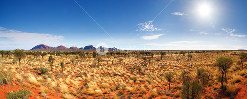 The Olgas and Uluru