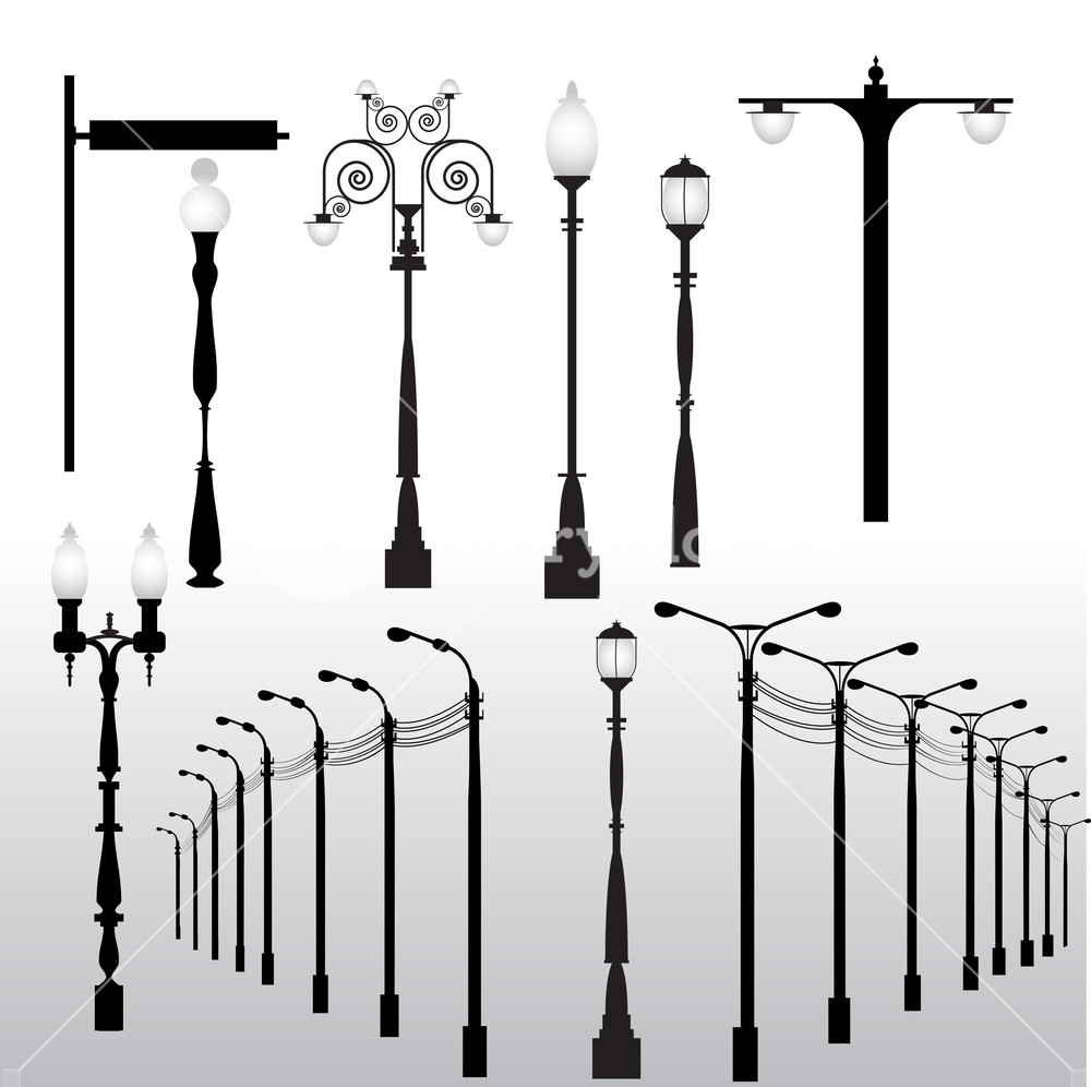 Street Lights Vectors