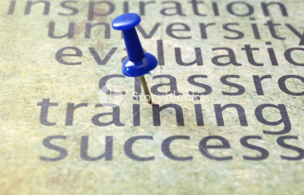 Training And Success Concept