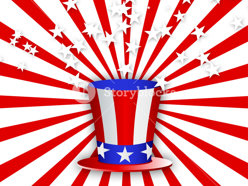 Uncle Sam Hat 4th Of July 227