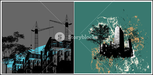 Urban Backgrounds Vectors