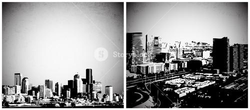 Urban City Vector Backgrounds