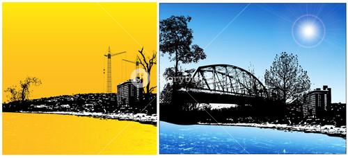 Urban Graphic Background