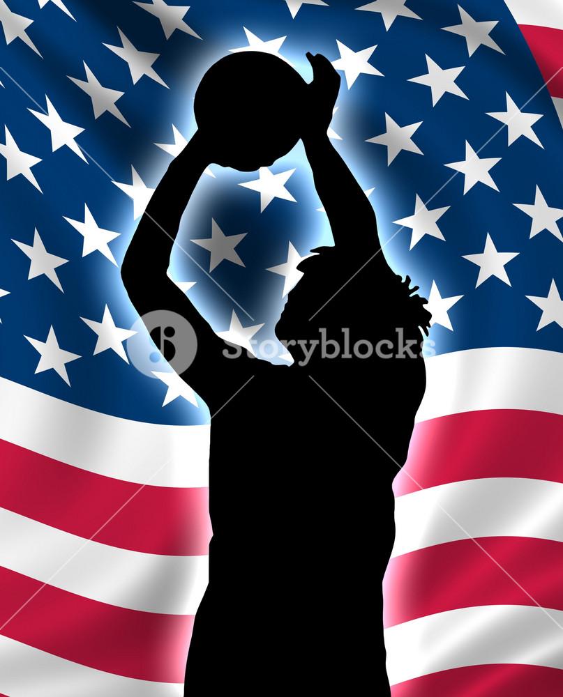 Usa Basketball Player