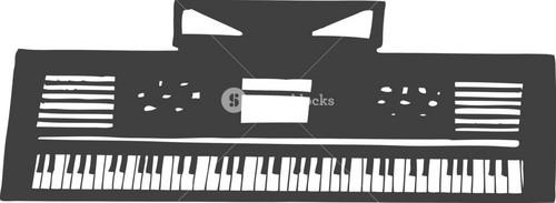 Vector Electronic Keyboard