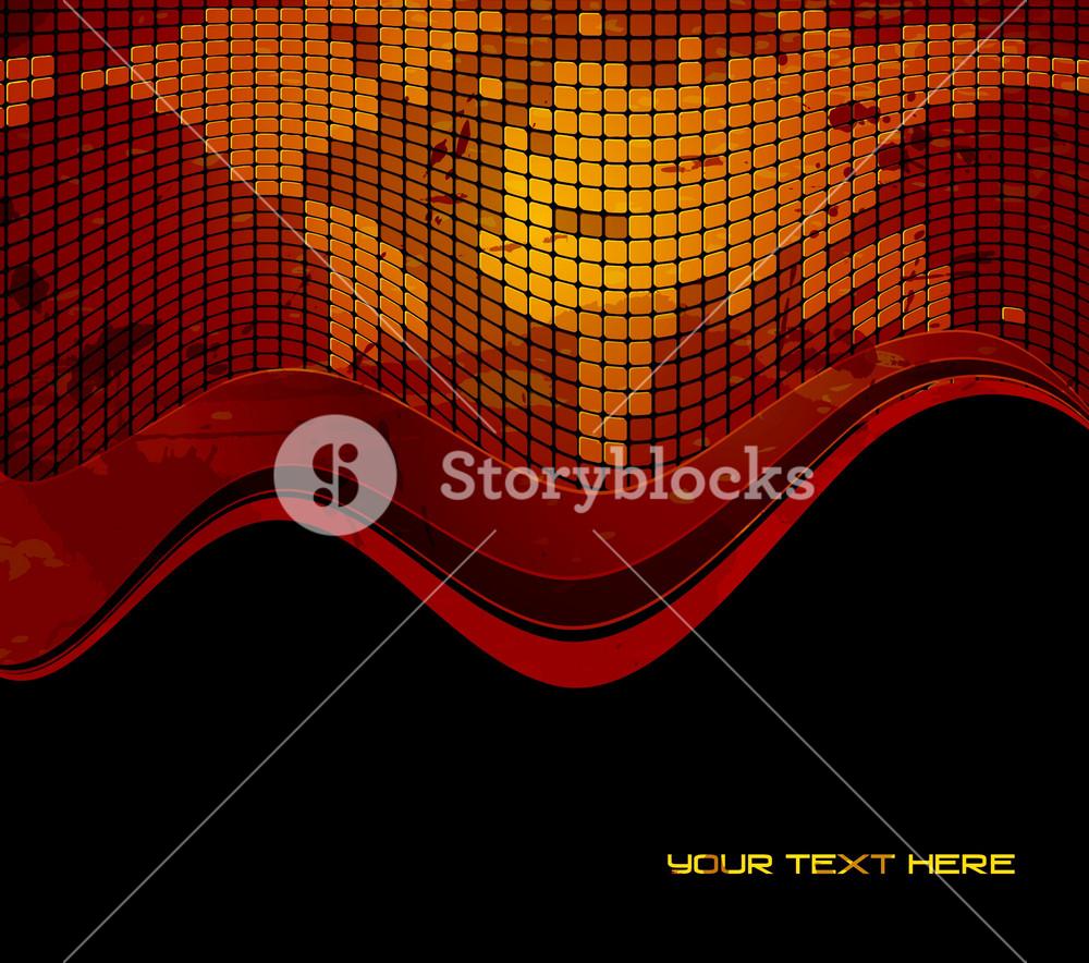 Vector Grunge World Map