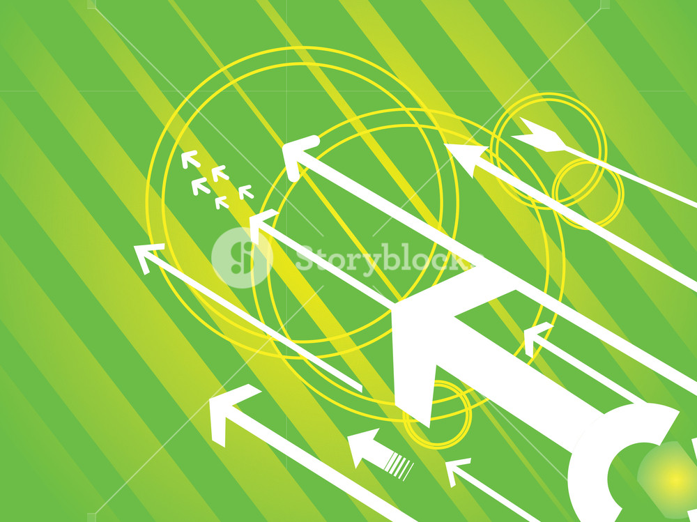 Vector Illustration Direction Of Movement