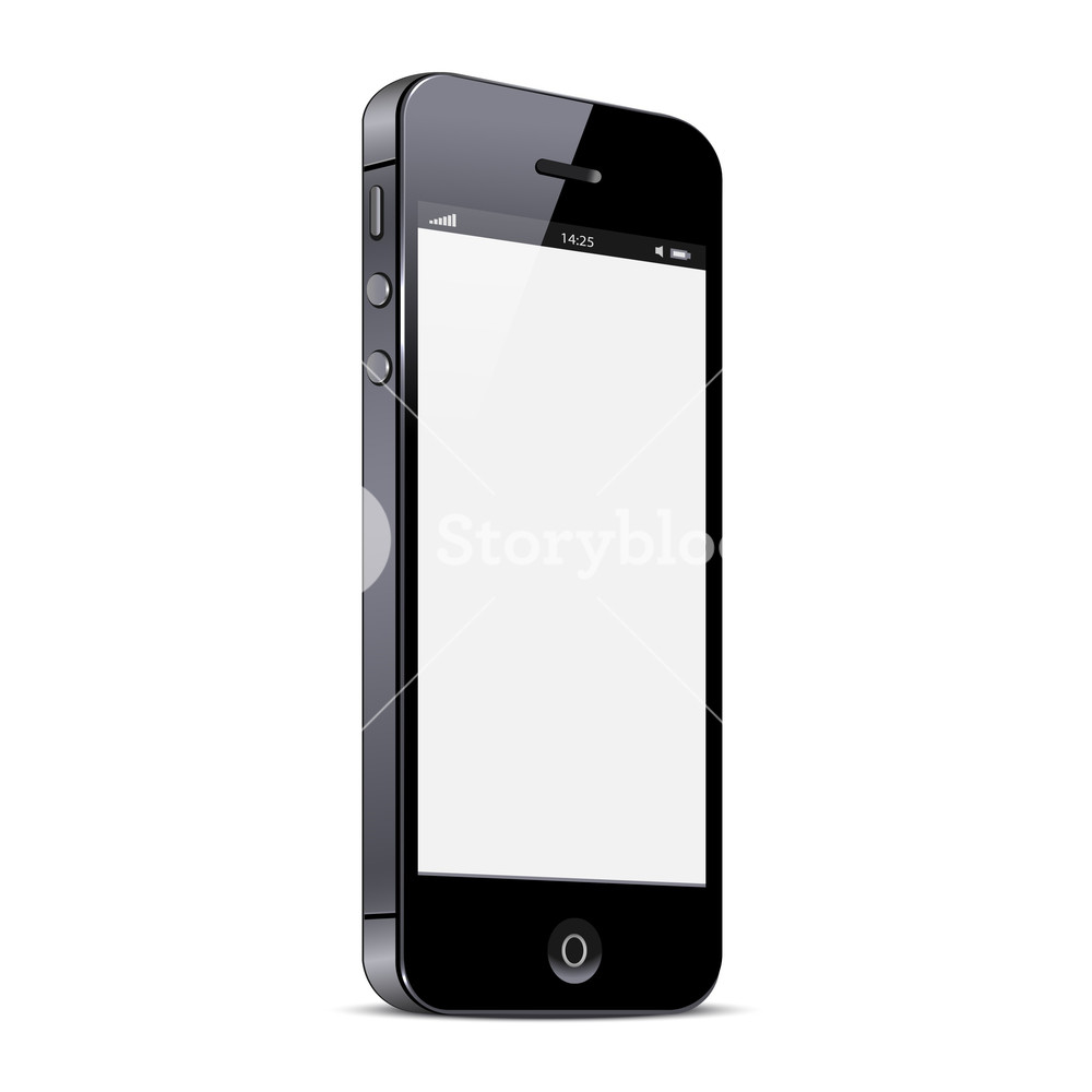 Vector Smartphone Isolated On White Background