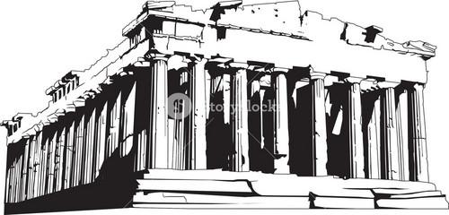 Vector Temple Of Artemis