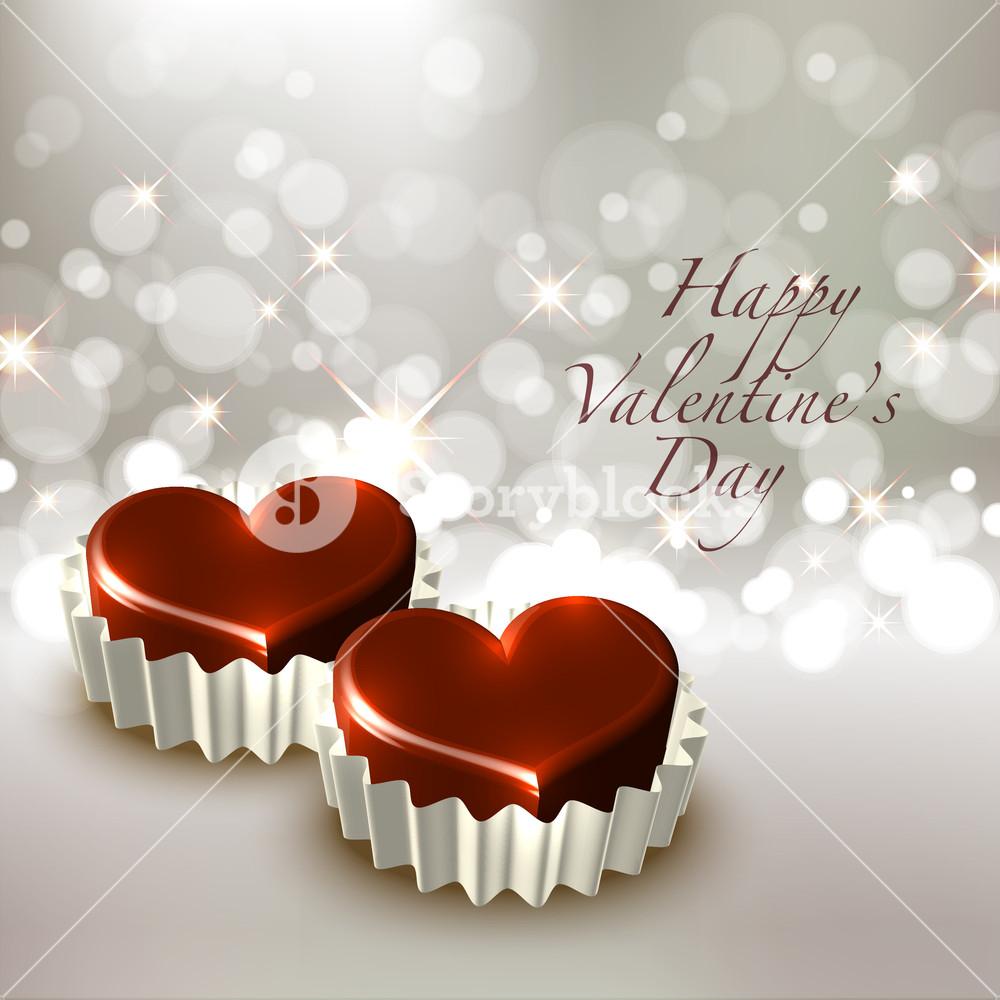 Vector Valentine S Chocolate Royalty Free Stock Image Storyblocks