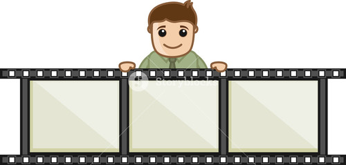 Video Editing - Business Cartoons Vectors