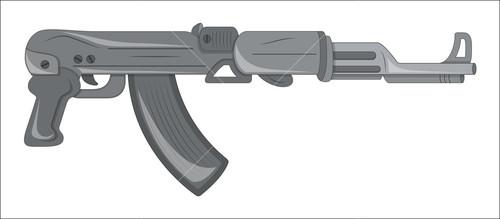 Vintage Modern Gun
