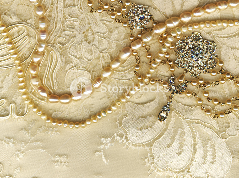 Wedding Still Life With Brid's Jewellery