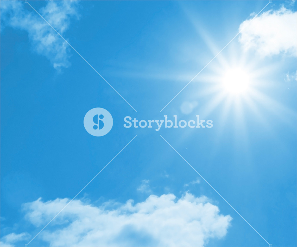 White Clouds On Sky Backdrop