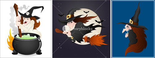 Witches Vectors