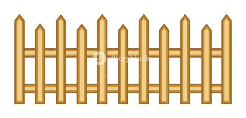 Wooden Fence Vector Design