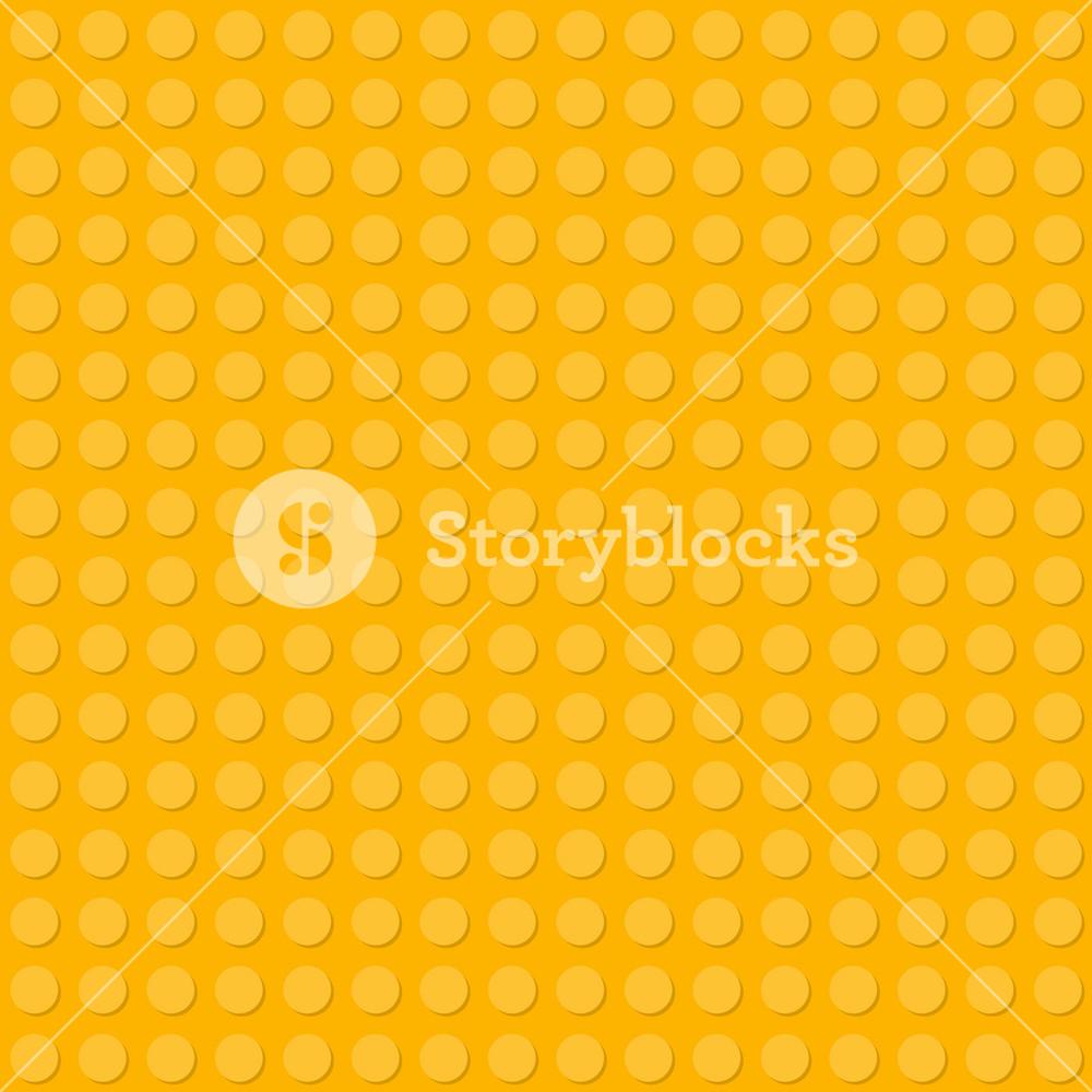 Yellow Lego Pattern